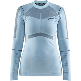 Craft Active Intensity T-shirt Manches longues Col ras-du-cou Femme, area/beat
